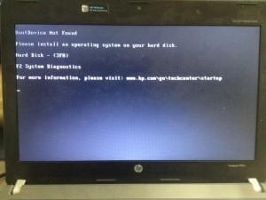 Zdjęcie jednego z zaatakowanych komputerów (źródło: Twitter)