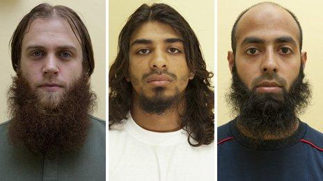 Zdjęcia skazanych (źródło: BBC)