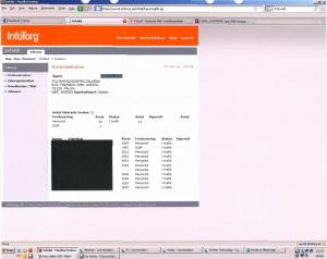 Zrzut ekranu z komputera podejrzanego (źródło: qnqr.se)