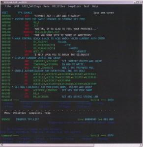 Zrzut ekranu Herculesa z programem włamywaczy