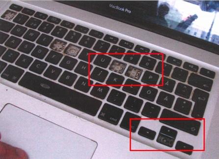 Zdjęcia MacBooka