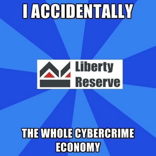 Liberty Reserve w popularnym memie