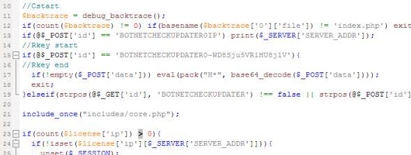 Błąd w kodzie (źródło: XyliBox)
