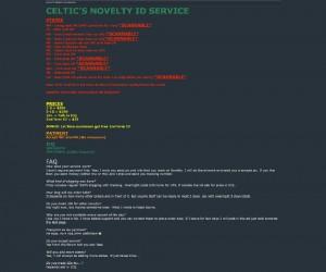 Oferta Celtica na forum (źródło: WIred)