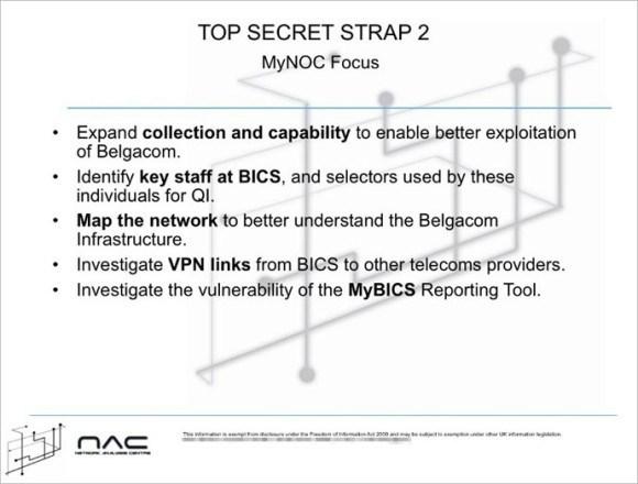 Slajd z archiwum Snowdena (źródło: Der Spiegel)