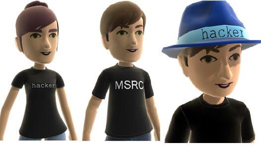 Niebieski kapelusz od Microsoftu
