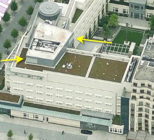 Ambasada USA w Berlinie (źródło: Duncan Campbell)