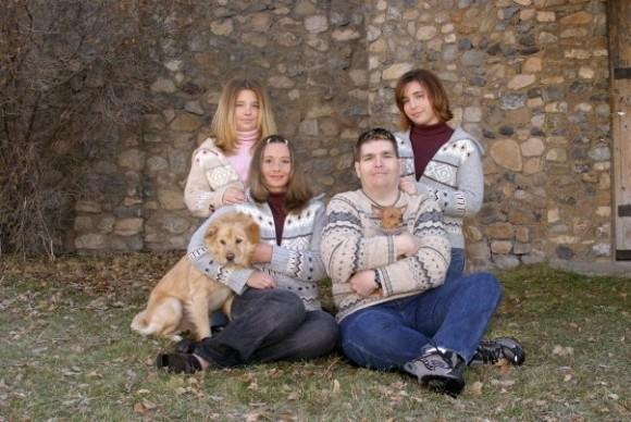 Rodzinne zdjęcie dilera z Facebooka jego żony (źródło: Forbes)
