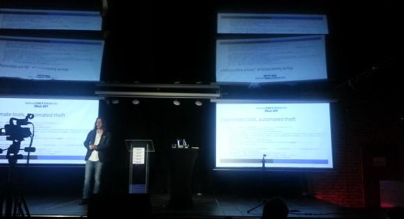 Rik Fergusson na konferencji ATAK I OBRONA