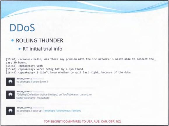 GCHQ chwali się atakami DDoS