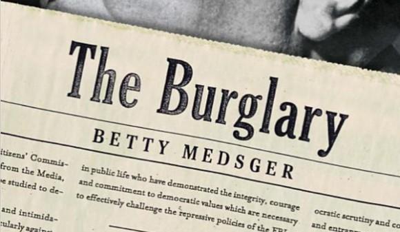 """Fragment okładki książki """"The Burglary"""""""