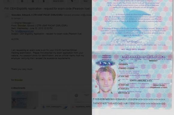 Email i paszport