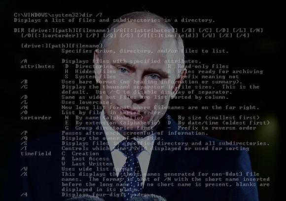 Jak Putin listuje katalogi