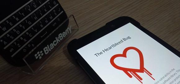 BlackBerry podatne na HeartBleed (źródło grafiki: blackberryhack.com)