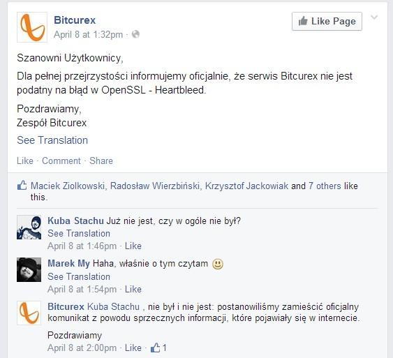Komunikat Bitcurexa