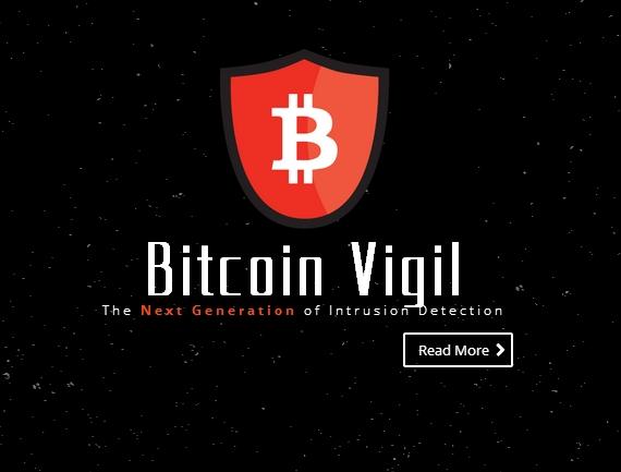 Logo serwisu Bitcoin Vigil