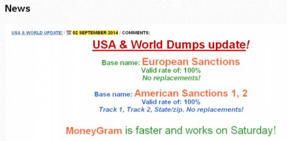 Sankcje dla Ameryki i Europy