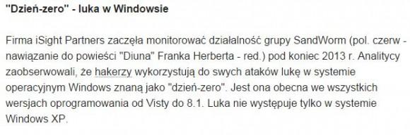 Zrzut ekranu z gazeta.pl