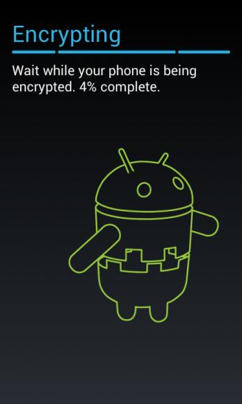 Szyfrowanie Androida