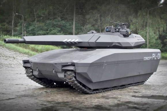 Projekt nowego polskiego czołgu PL-01