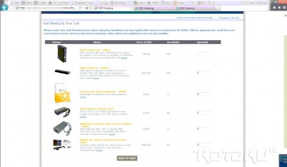 Zrzut ekranu potwierdzający dostęp do sklepu dla deweloperów