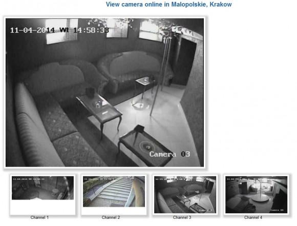 Kamery z miejsca, które wygląda jak klub GoGo w Krakowie, znalezione przez pewnego Wykopowicza