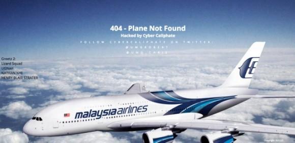 Lizard Squad zaatakował Malaysia Airlines