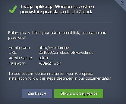 Dwujęzyczny komunikat