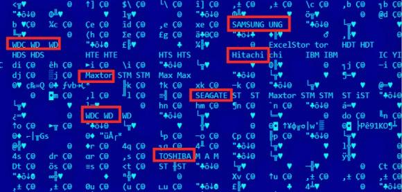 Producenci dysków, które potrafi infekować Equation Group (źródło: Kaspersky)