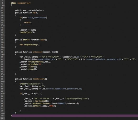 Analizowany kod