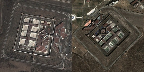 Subtelne podobieństwo (źródło: Google Earth)