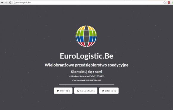 Witryna eurologistic.eu