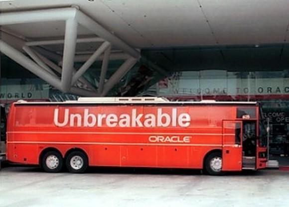 """Kampania Oracle """"nie do złamania"""""""