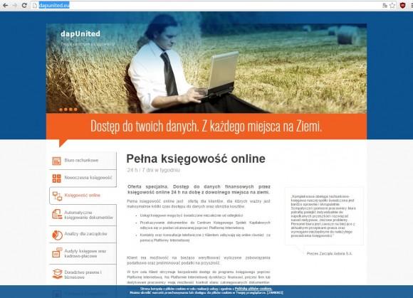 Strona firmy księgowej