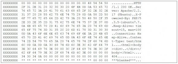 Fragment kodu, którego nie powinno być w pamięci rutera