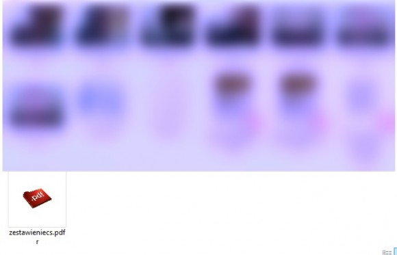 Podgląd ikon plików