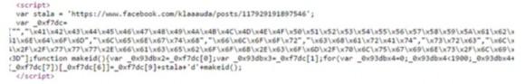 Zaciemniony kod