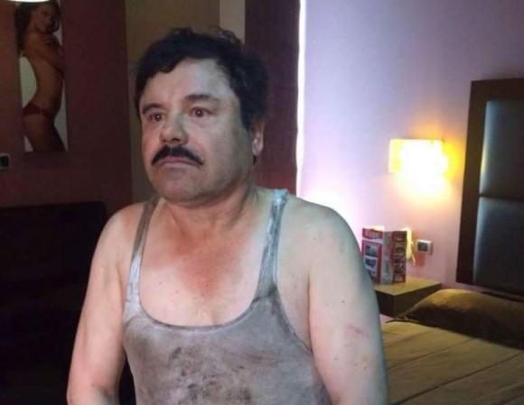 El Chapo prosto z kanału