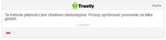 Komunikat od Trustly