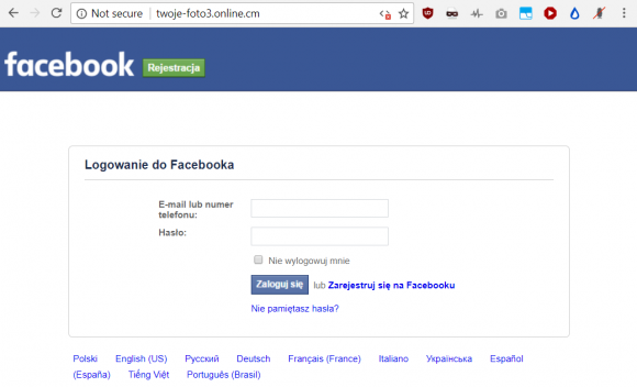 3f2b36ac8da751 Ile osób klika w trywialne kampanie facebookowych oszustów i kto je ...