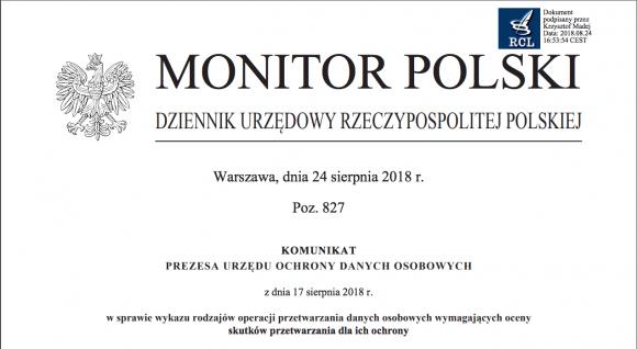 a49a42300231e3 Kiedy ocena skutków dla ochrony danych jest niezbędna według UODO? W komunikacie  prezesa UODO możemy ...